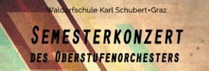 Semesterkonzert des Oberstufenorchesters